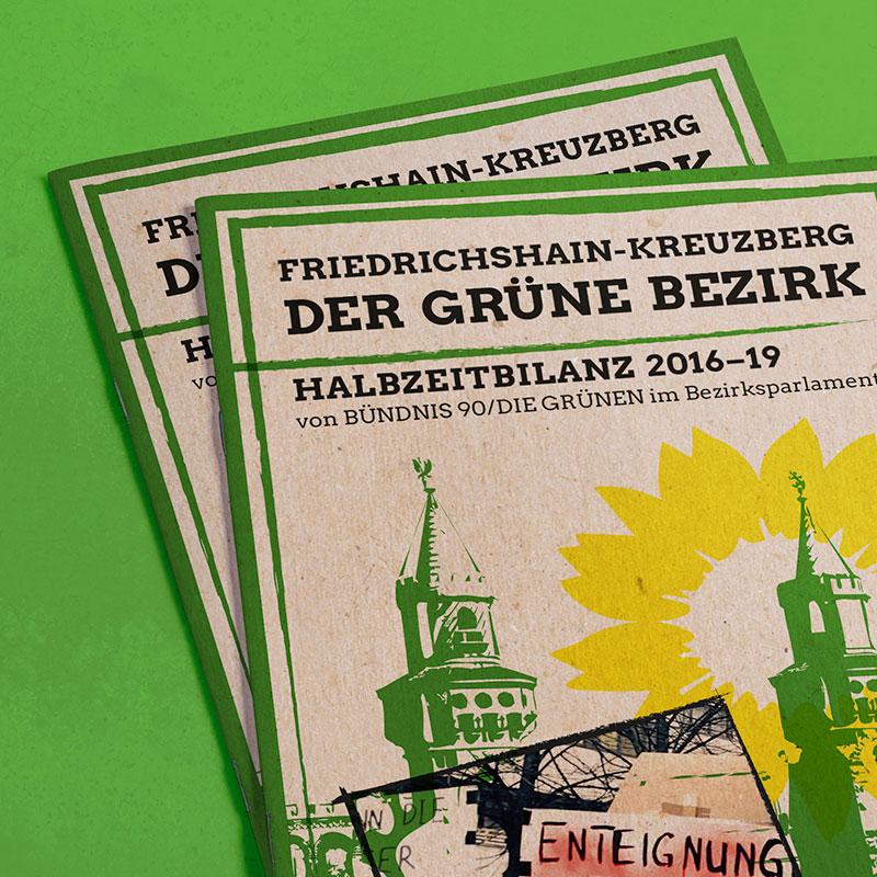 interpolare Büro für Kommunikation Grüne Kreuzberg Broschüre