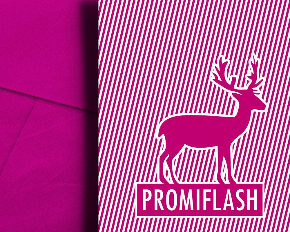 interpolare Büro für Kommunikation Promiflash Weihnachtskarte